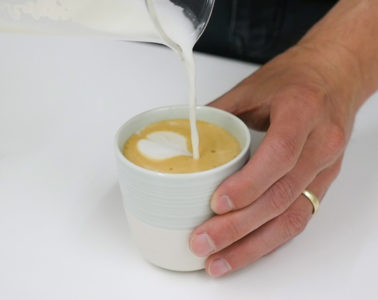 How To Make Flat White At Home (Using The AeroPress)