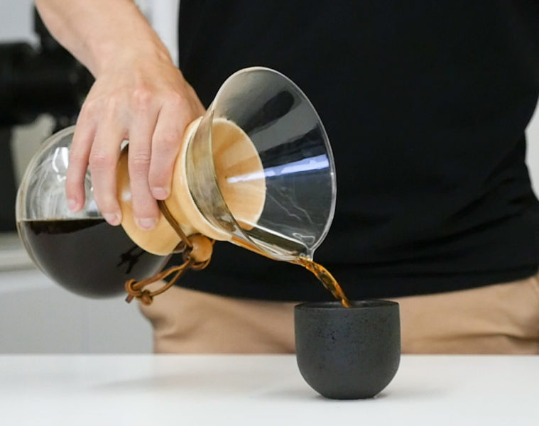How To Brew Chemex Coffee At Home