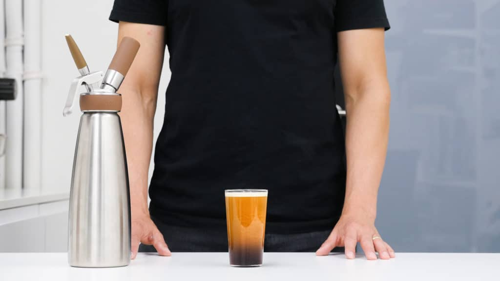 Making Nitro Cold Brew with Nitro Whip from iSi
