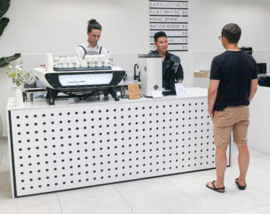 A tour at Mazelab Coffee in Prague with Jackie Tran