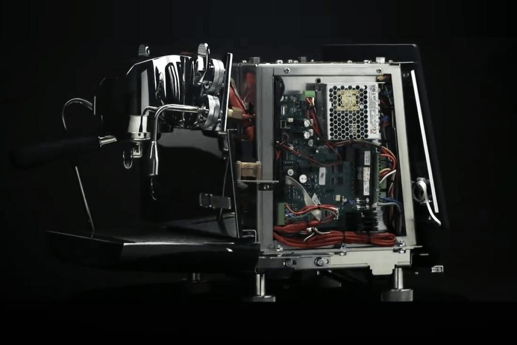 Victoria Arduino Eagle One Prima (open case)