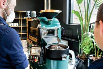 Typhoon Fluid Bed Coffee Roaster