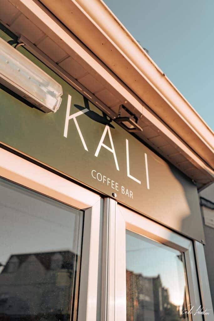 Kali Coffee Bar - front window