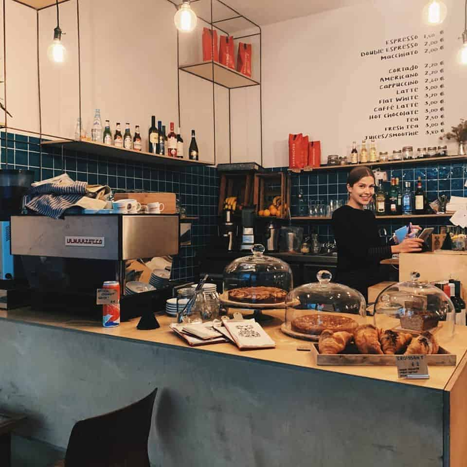 O.A.K. Cafè - Berlin, Germany   European Coffee Trip