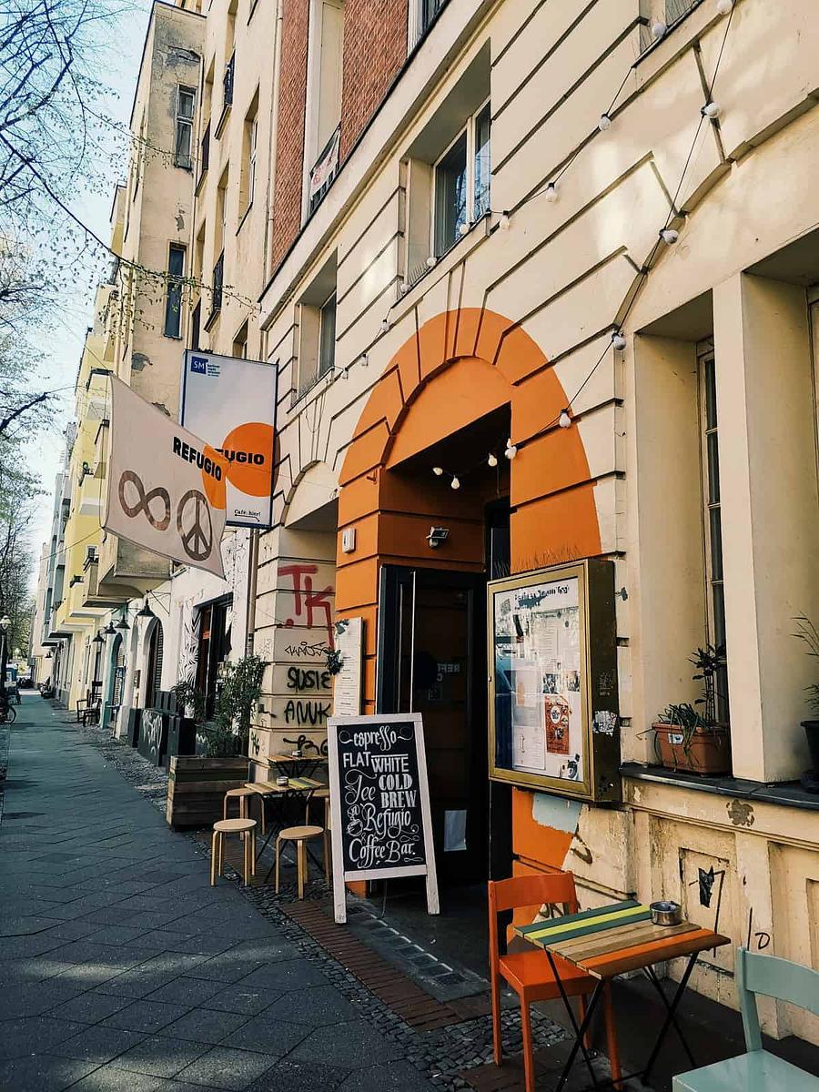 Refugio Cafe - Berlin, Germany   European Coffee Trip