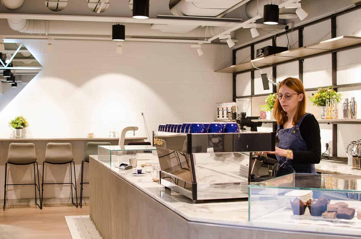 Workshop Coffee Holborn Coffeebar London United Kingdom
