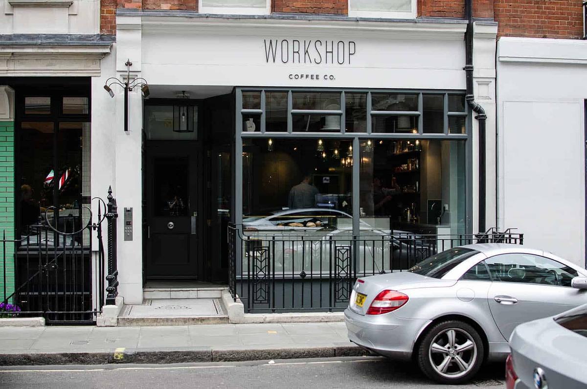 Workshop Coffee Fitzrovia Coffeebar London United Kingdom